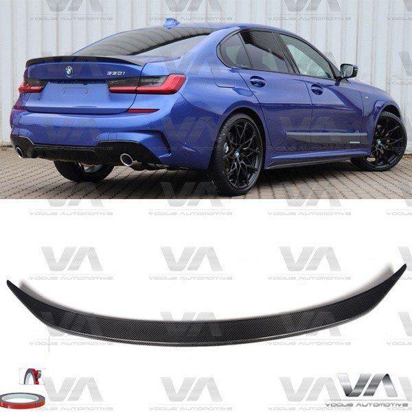 BMW 3 Series G20 PERFORMANCE Style CARBON FIBER Boot Spoiler