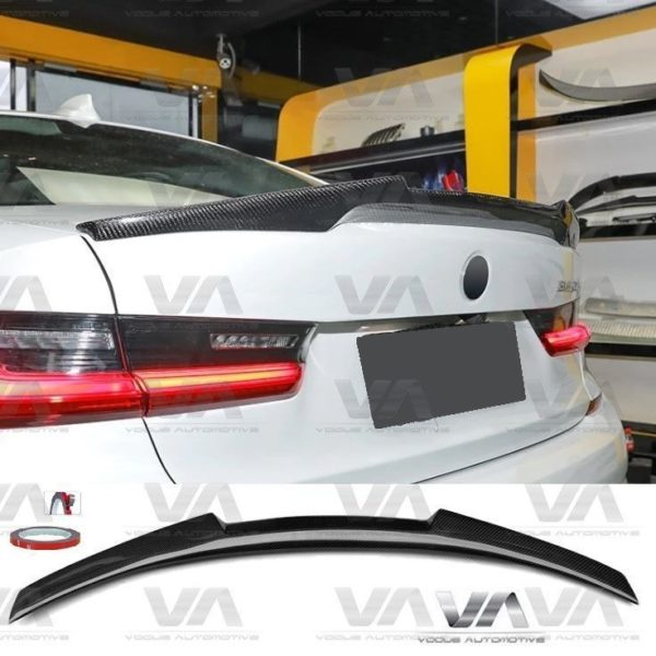 BMW 3 Series G20 M4 Style CARBON FIBER Boot Spoiler