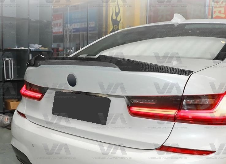 BMW 3 Series G20 M4 Style CARBON FIBER Boot Spoiler