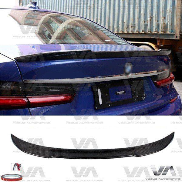 BMW 3 Series G20 CS Style CARBON FIBER Boot Spoiler