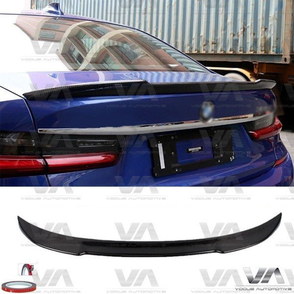 BMW 3 Series G20 CS Style CARBON FIBER Boot Spoiler