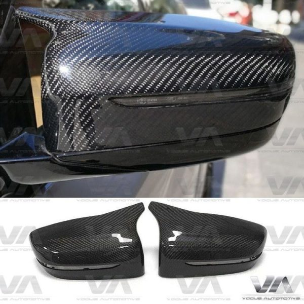BMW 5 Series G30 G31 M Style Replacement CARBON FIBER Mirror Covers