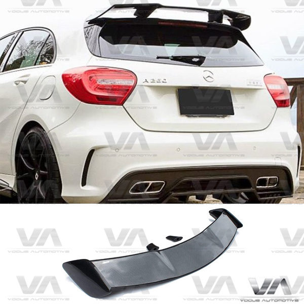 MERCEDES-BENZ A Class W176 AMG Style CARBON FIBER Roof Spoiler