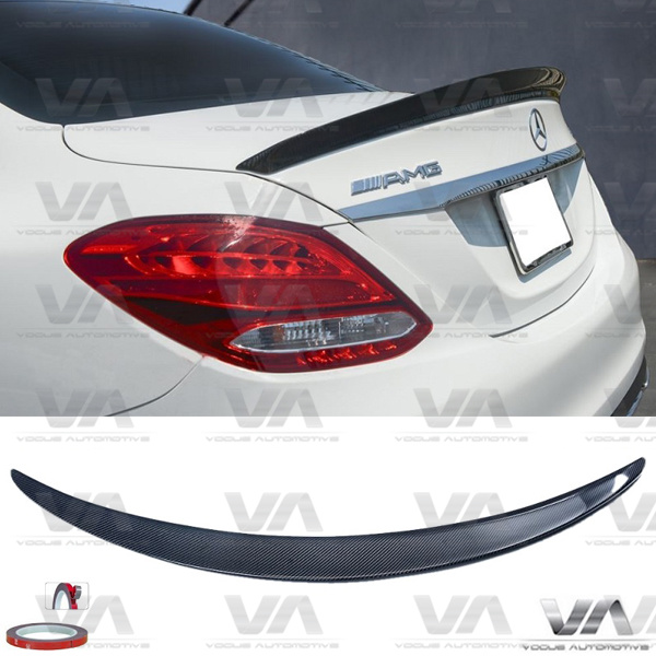 MERCEDES-BENZ C Class W205 SALOON AMG CARBON FIBER Boot Spoiler