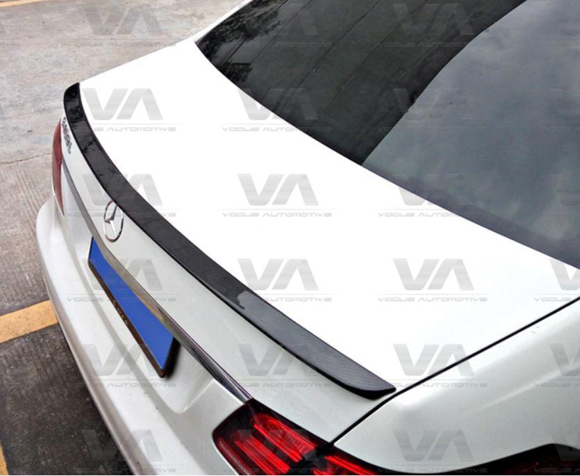 MERCEDES-BENZ E Class W212 SALOON AMG Style CARBON FIBER Boot Spoiler
