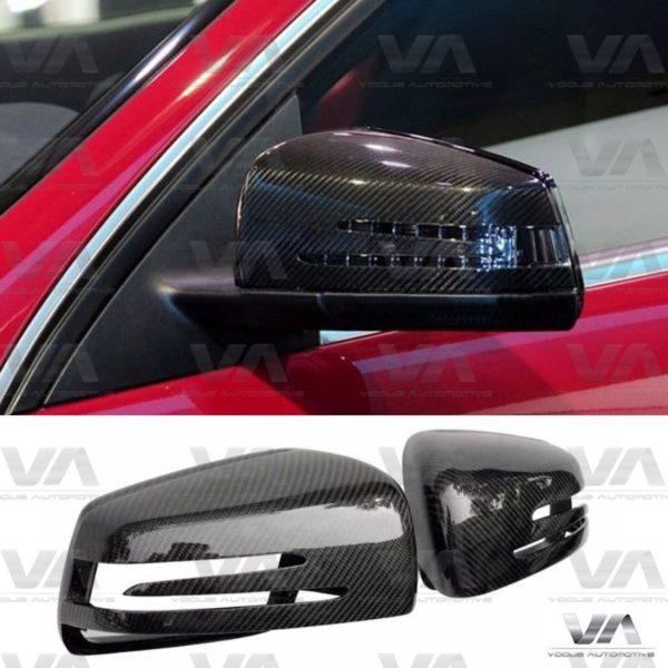 MERCEDES-BENZ A C E S Class CLS W176 C207 W212 Replacement CARBON FIBER Mirror Covers
