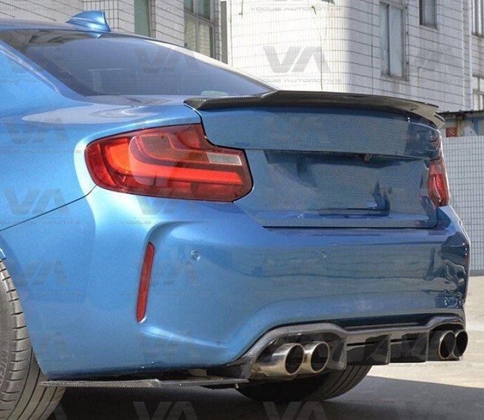 BMW M2 F87 MTC Style CARBON FIBER Rear Diffuser