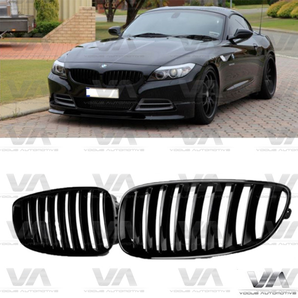 BMW Z Series Z4 E89 GLOSS BLACK Kidney Grilles
