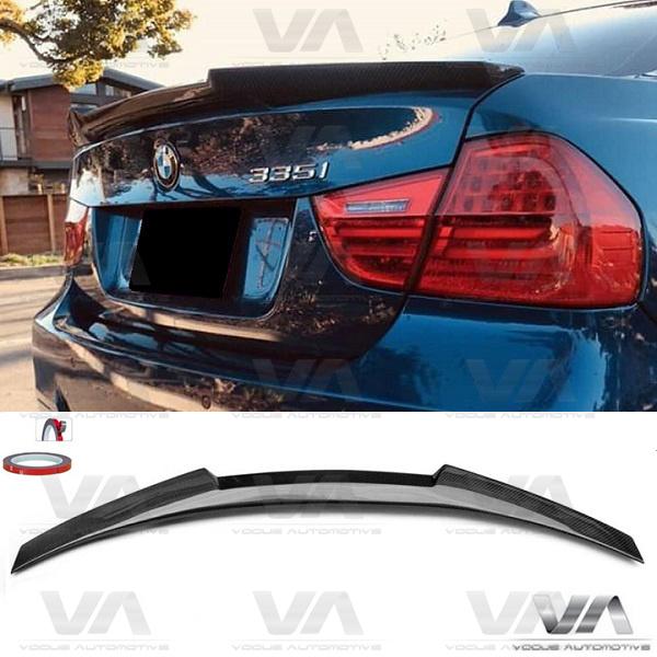 BMW 3 Series E90 M4 Style CARBON FIBER Boot Spoiler