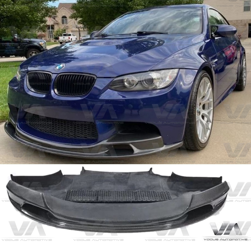 BMW M3 E90 E92 E93 GTS VRS Style CARBON FIBER Front Splitter w/ Undertray