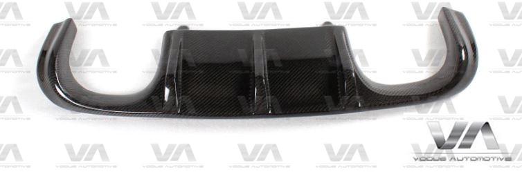 BMW M3 E92 E93 VRS II Style CARBON FIBER Rear Diffuser