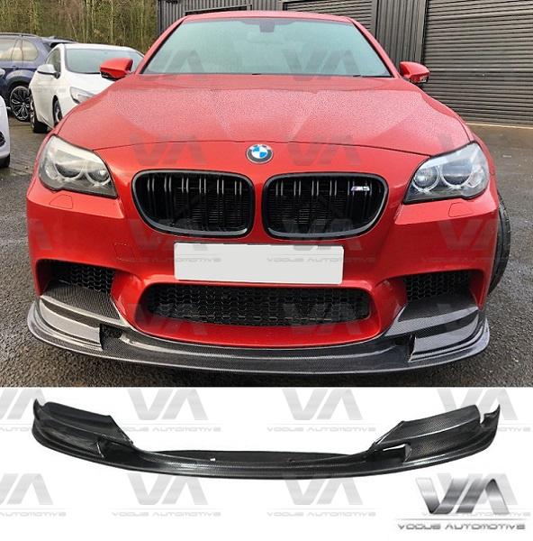 BMW M5 F10 3D Style CARBON FIBER Front Splitter