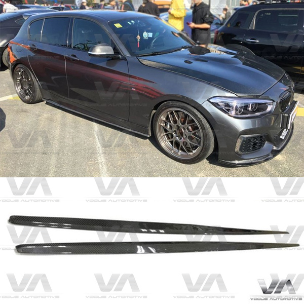 BMW 1 Series F20 F21 PERFORMANCE Style CARBON FIBER Side Skirts