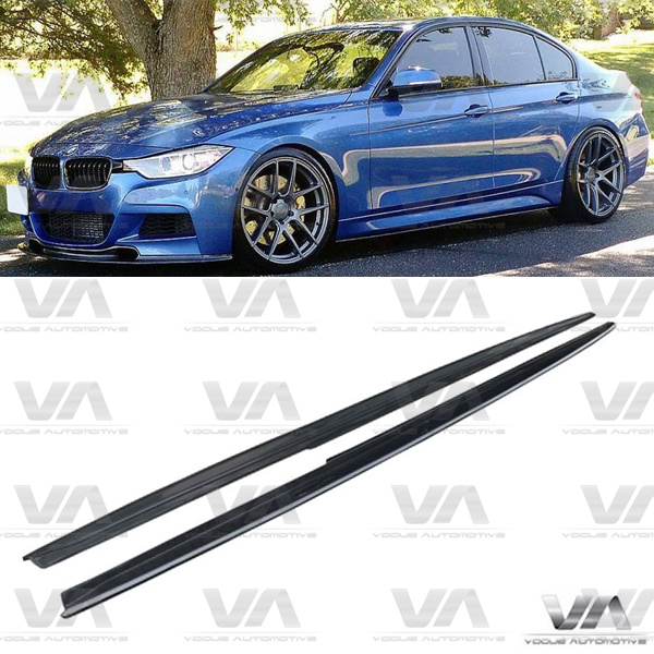 BMW 3 Series F30 F31 PERFORMANCE Style CARBON FIBER Side Skirts