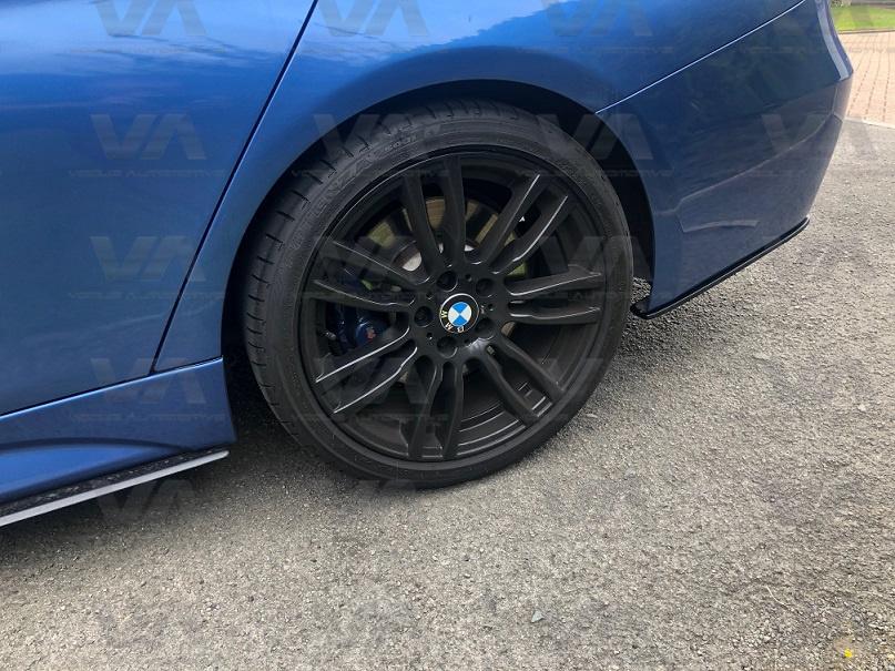 BMW 3 Series M Sport F30 F31 PERFORMANCE Style REAR BUMPER EXTENSIONS
