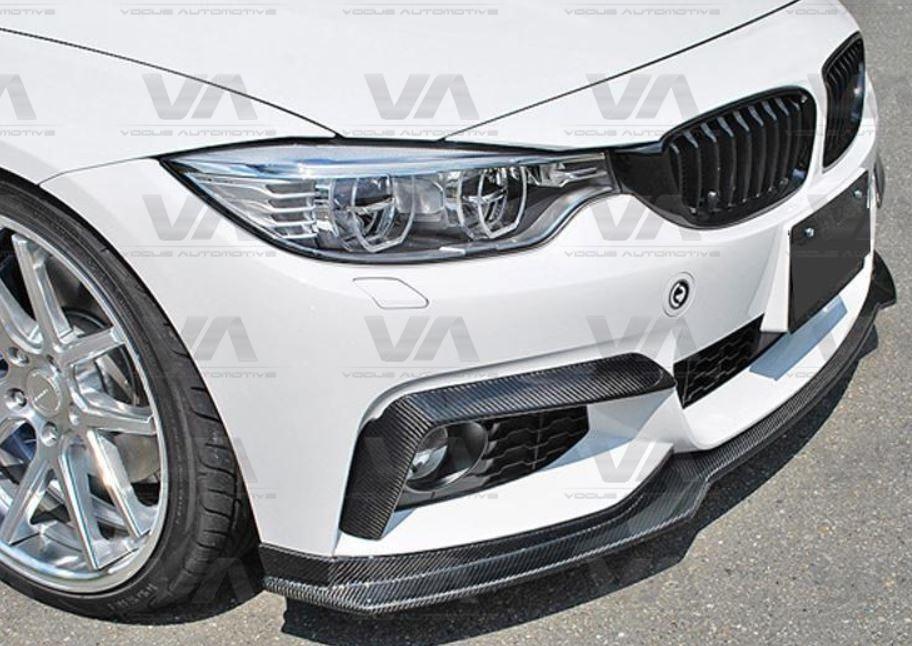 BMW 4 Series F32 F33 M Sport END CC Style CARBON FIBER Front Splitter