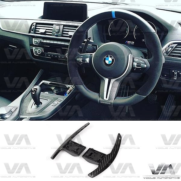 BMW F20 F22 F30 F32 F80 F82 M2 M3 M4 M5 M6 X5M X6M CARBON FIBER Paddle Shifters