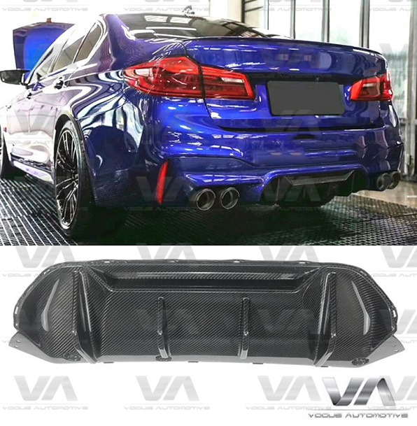 BMW M5 F90 PERFORMANCE Style CARBON FIBER Rear Diffuser