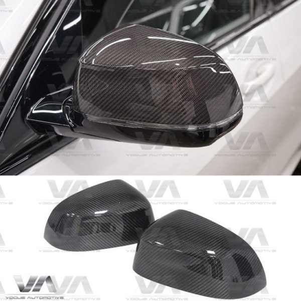 BMW X3 G01 X4 G02 X5 G05 X6 G06 Replacement CARBON FIBER Mirror Covers