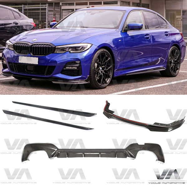 BMW 3 Series G20 G21 M SPORT PERFORMANCE Style CARBON FIBER Full Body Kit