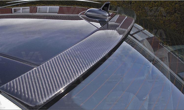 MERCEDES-BENZ C Class W204 SALOON CARBON FIBER Roof Spoiler