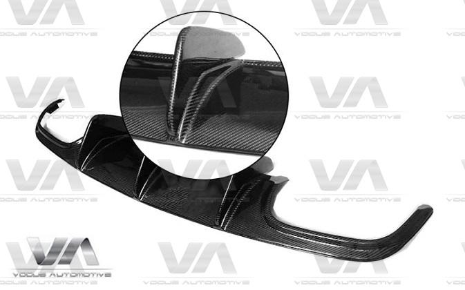 MERCEDES-BENZ C204 W204 C63 AMG DTM Style CARBON FIBER Rear Diffuser