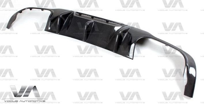 MERCEDES-BENZ C204 W204 C63 AMG VRS Style CARBON FIBER Rear Diffuser