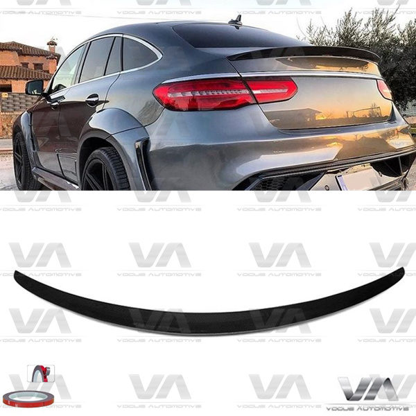 MERCEDES-BENZ GLE Class W292 AMG Style CARBON FIBER Boot Spoiler