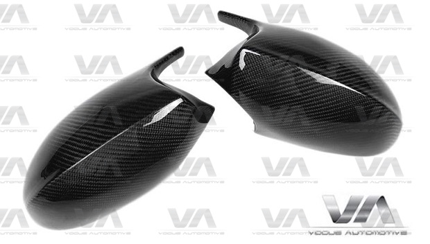 MW 1 3 Series E82 E87 E90 E92 Pre LCI M Style Replacement CARBON FIBER Mirror Covers