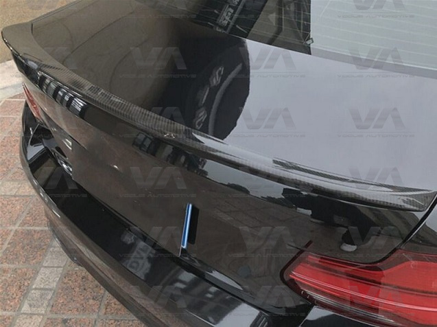 BMW 2 Series F22 F87 CS Style CARBON FIBER Boot Spoiler