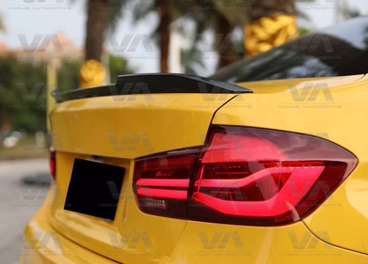 BMW 3 Series F30 F80 M3 CS Style CARBON FIBER Boot Spoiler