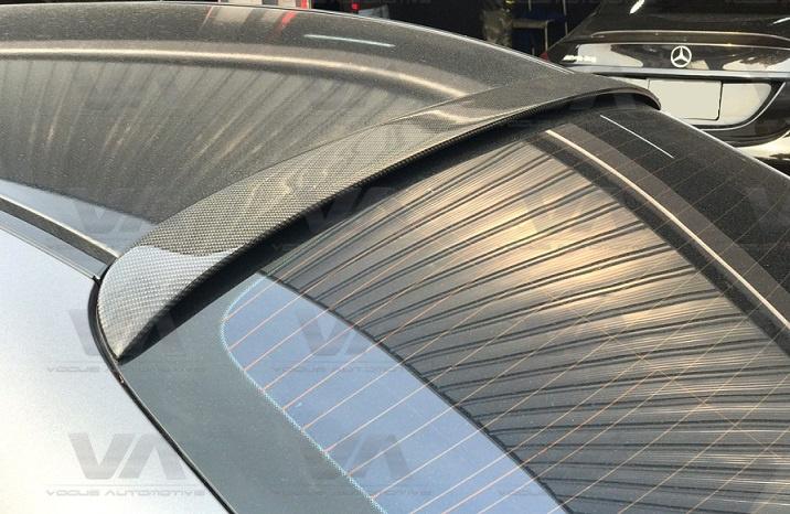 MERCEDES BENZ C Class W205 AMG Saloon CARBON FIBER Roof Spoiler