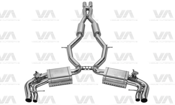 XCENTRIC MERCEDES-BENZ S 63 AMG Coupe Exhaust System