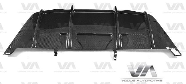 MERCEDES-BENZ C205 W205 COUPE C63 AMG PSM Style CARBON FIBER Rear Diffuser