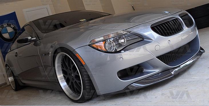 BMW M6 E63 E64 VRS Style CARBON FIBER Front Splitter