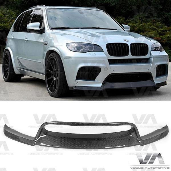 BMW X5M X6M E70 E71 VRS Style CARBON FIBER Front Splitter