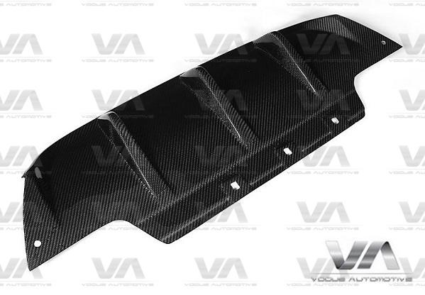 BMW M6 F06 F12 F13 PERFORMANCE Style CARBON FIBER Rear Diffuser