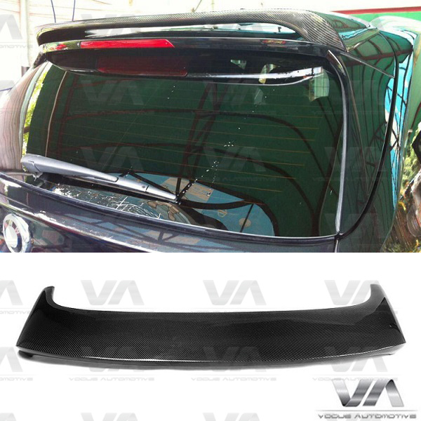 BMW X Series F15 X5 M Style CARBON FIBER Roof Spoiler