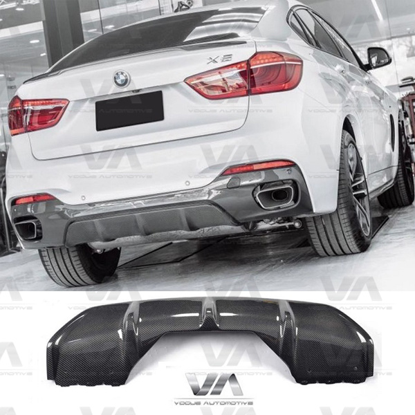BMW X6 F16 PERFORMANCE Style CARBON FIBER Rear Diffuser