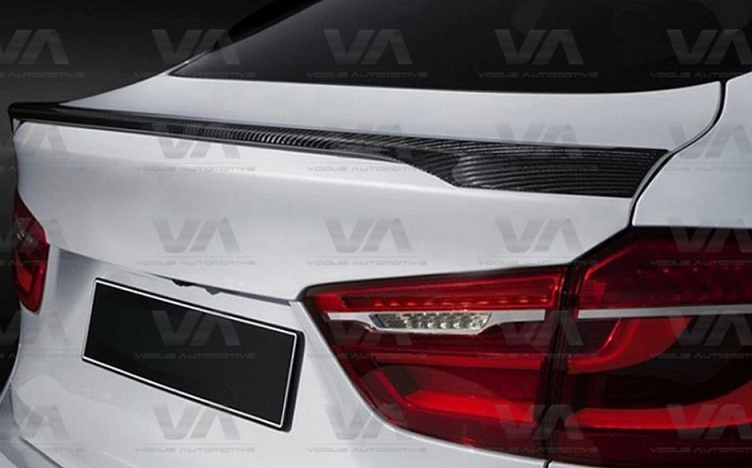 BMW X Series F16 F86 X6 PERFORMANCE Style CARBON FIBER Boot Spoiler