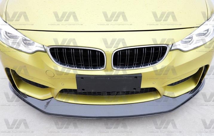 BMW M3 M4 F80 F82 F83 GTS Style CARBON FIBER Front Splitter