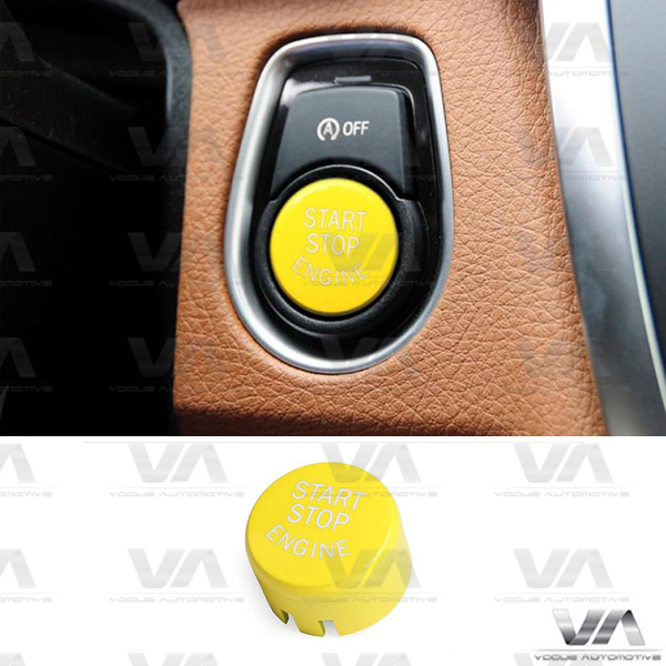 BMW 1 2 3 4 5 Series F10 F20 F30 Start Stop Engine YELLOW Button WITH Off