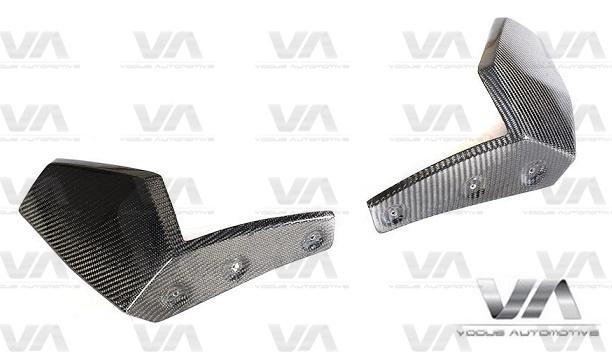 BMW X5 G05 M Sport PERFORMANCE Style CARBON FIBER Corner Splitters
