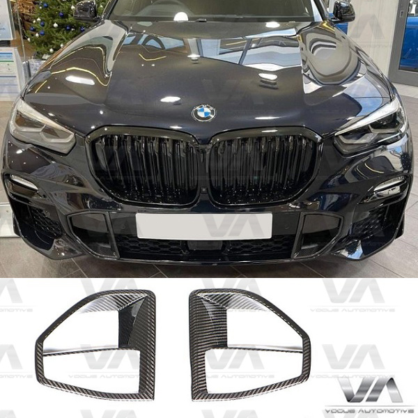 BMW X5 G05 M Sport PERFORMANCE CARBON FIBER Front Air Vent Trim Inserts