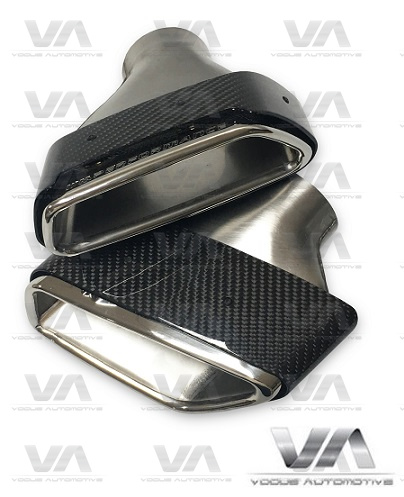 BMW 5 Series G30 G31 CARBON FIBER Exhaust Tips