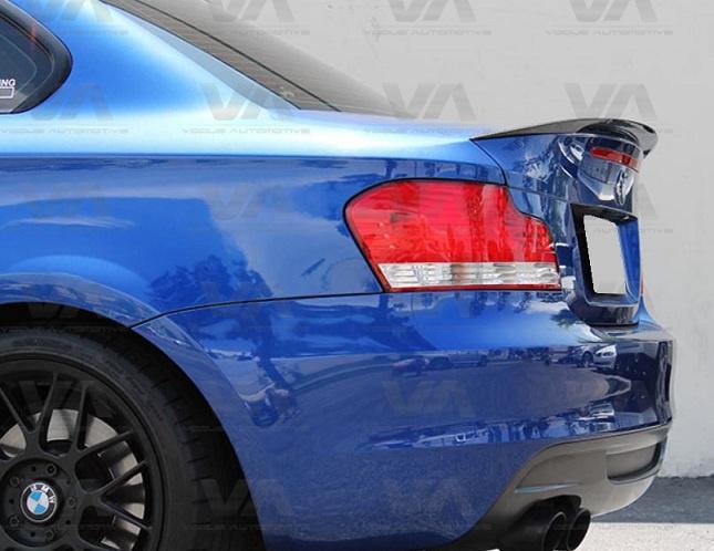 BMW 1 Series E82 PERFORMANCE Style CARBON FIBER Boot Spoiler