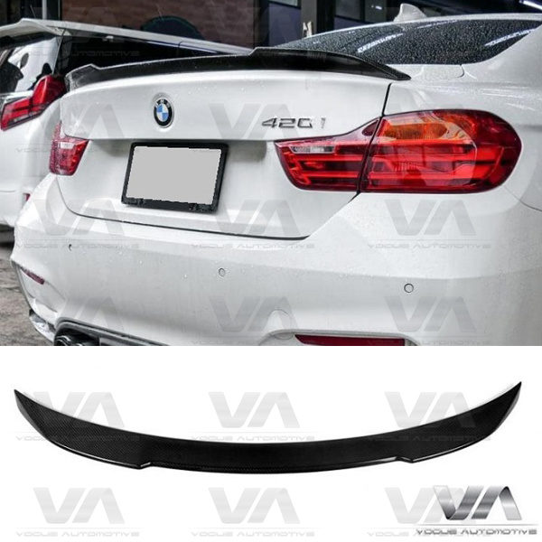 BMW 4 Series F32 CS Style CARBON FIBER Boot Spoiler