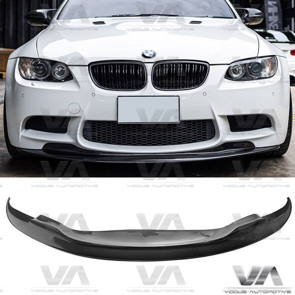 BMW 3 Series E90 E92 E93 M3 GTS v1 Style CARBON FIBER Front Splitter