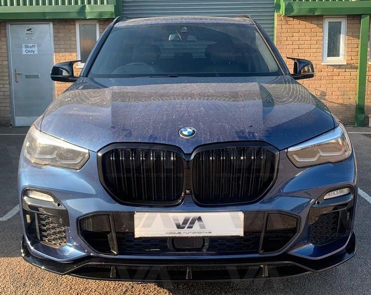 BMW X5 G05 M Sport GLOSS BLACK Full Body Kit v1