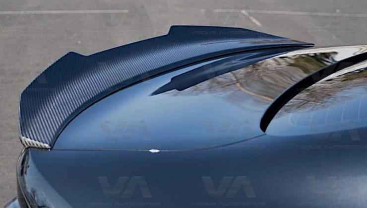 BMW 4 Series G22 PSM Style Prepreg CARBON FIBER Boot Spoiler